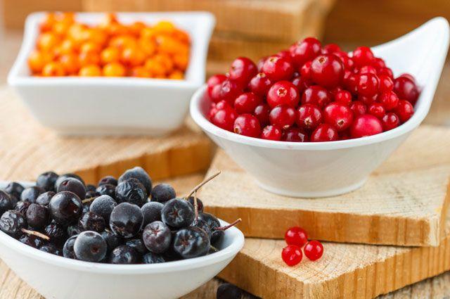 Какие осенние ягоды являются наиболее полезными для организма
