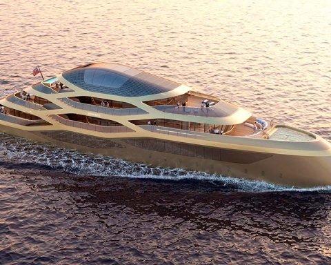 Невероятная красота и скорость: в Монако показали яхту будущего (фото)