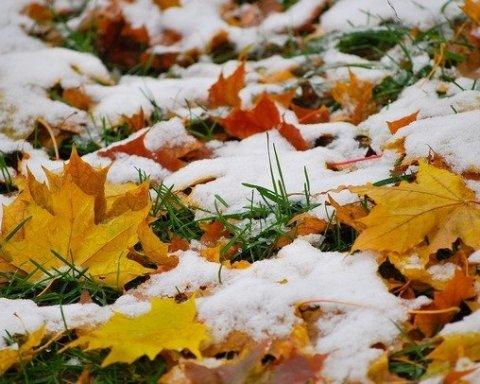 Українців попередили про сніжний шторм з понеділка