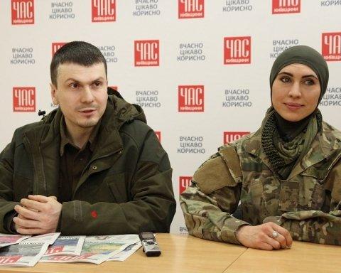 Аміна Окуєва та Адам Осмаєв