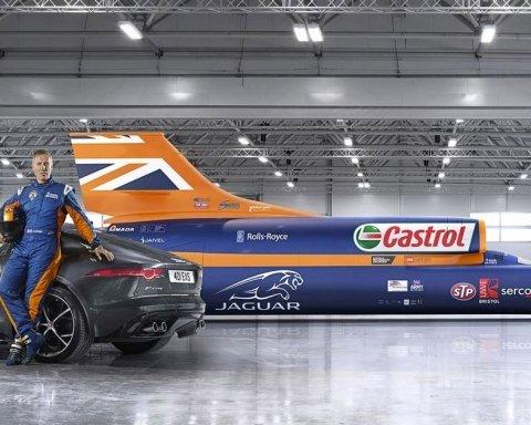 Как выглядит самый быстрый автомобиль на планете (фото, видео)