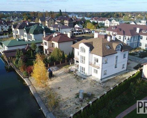 Роскошный дом киевского судьи показали в сети (видео)