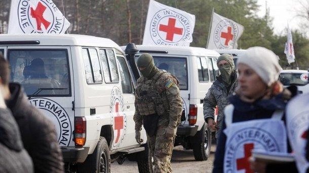Нанеподконтрольные территории Донбасса прибыла гуманитарная помощь отКрасного Креста