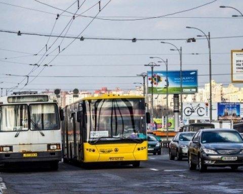 У Києві завтра змінять маршрути громадського транспорту (карта)
