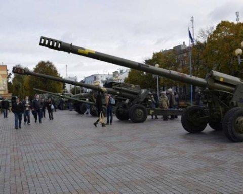 Точні і потужні: військові АТО отримали нову партію гармат