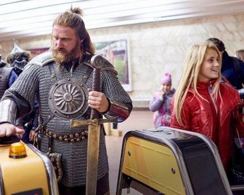 Метро Киева не принимает банковскую карту для оплаты проезда