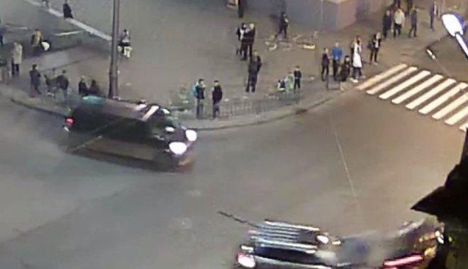 З'явилося детальне відео ДТП у Харкові