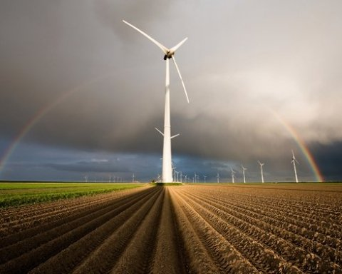 Під Херсоном запустили нову вітряну електростанцію
