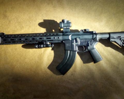 Модернізований і точний: українцям показали автомат WAC-47