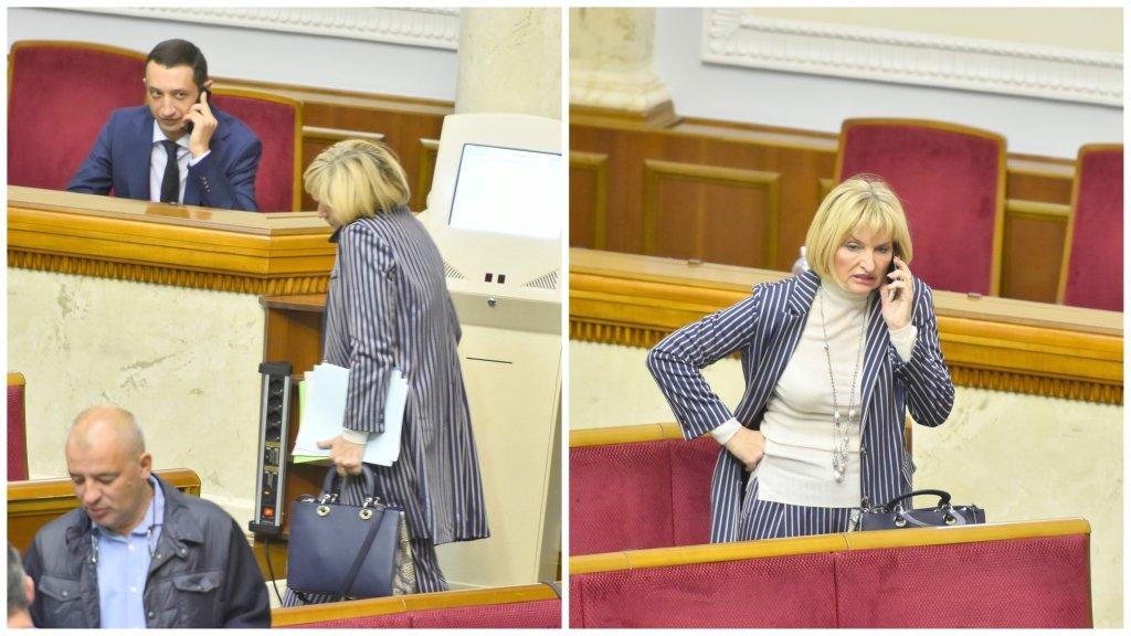 Дружина Луценка заявилася в Раду з сумкою за 80 тисяч гривень