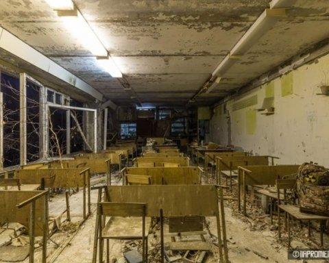 Місто-привид Прип'ять: активісти засвітили світло у темних місцях (фото)