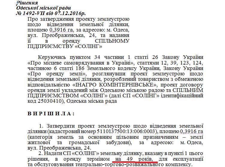 В Одесі розгорнулась війна за Літній театр