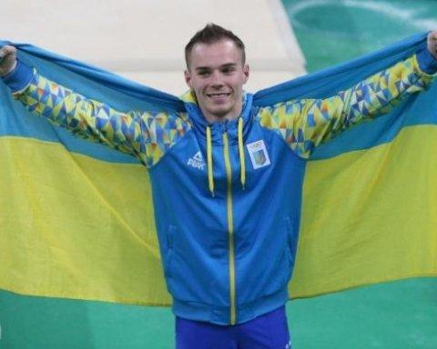 Дві золоті медалі везе додому український гімнаст