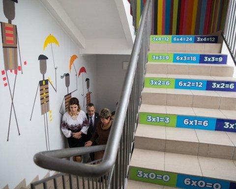 Стильна і елегантна Марина Порошенко побувала в Острозькій академії