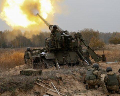 Боевики обстреливают позиции сил ВСУ