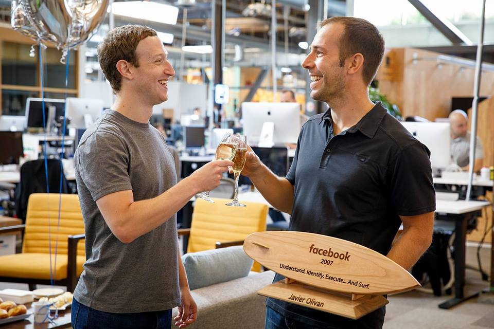 Робота мрії: Система мотивації від Марка Цукерберга для працівників компанії Facebook