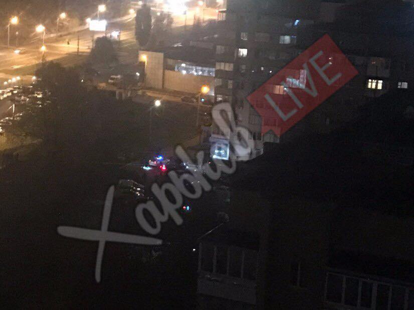 Вцентре Харькова человек умер в итоге обстрела автомобиля