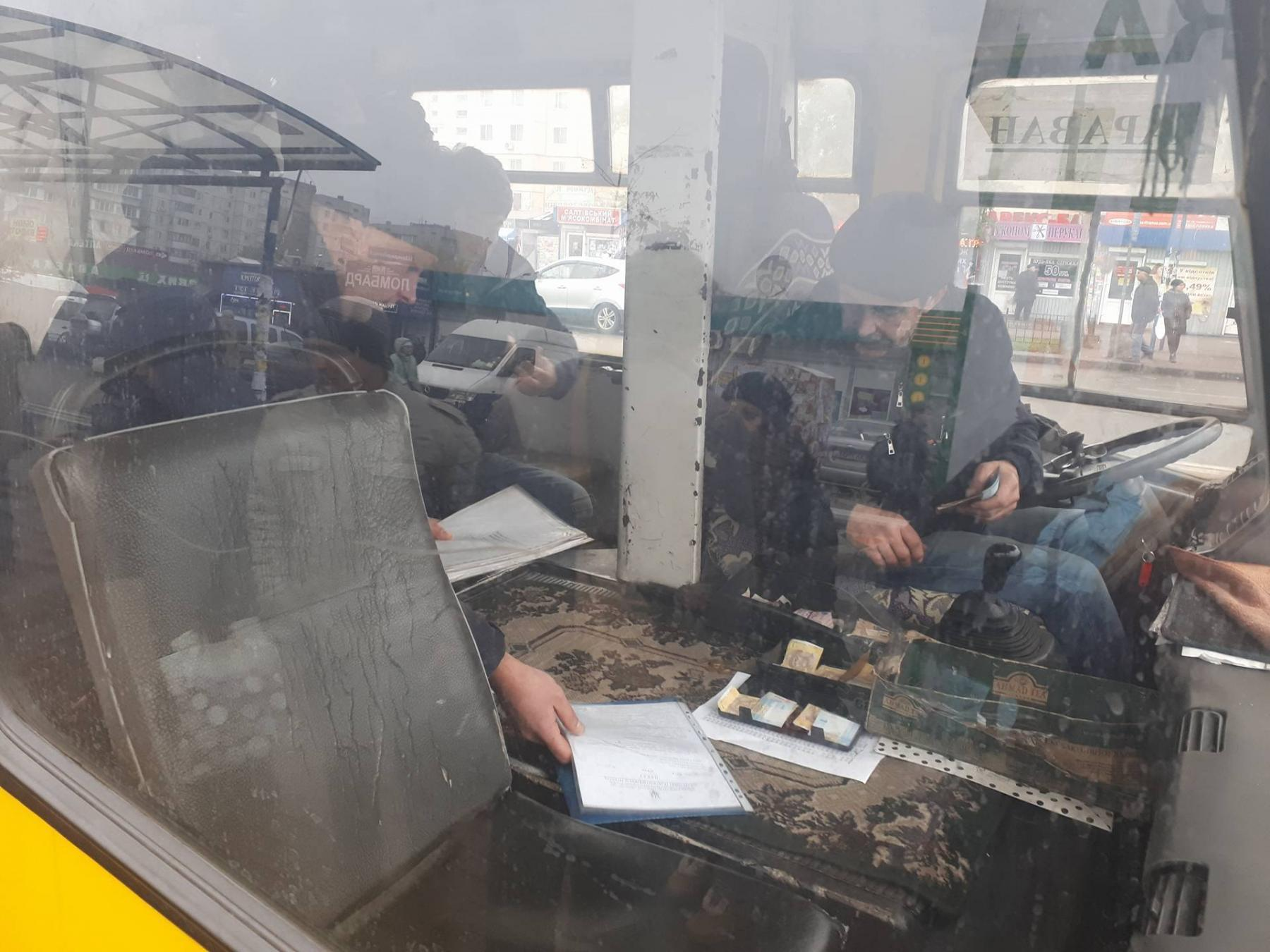 Как прошли первые проверки киевских маршрутчиков— Нарушения иштрафы