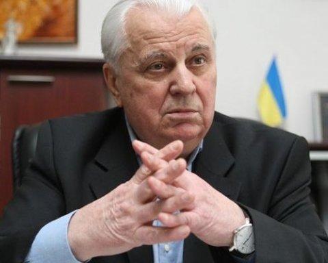 Кравчук поразил заявлением о миротворцах на Донбассе