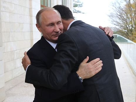 Сирійський президент прилетів в Сочі на переговори з Володимиром Путіним