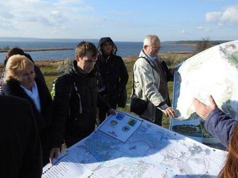 Над затопленными деревнями откроют панорамную площадку для украинцев
