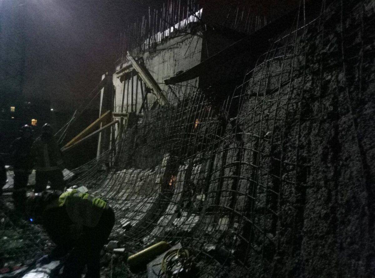 ВИвано-Франковске обрушилась стена новостройки, есть погибший