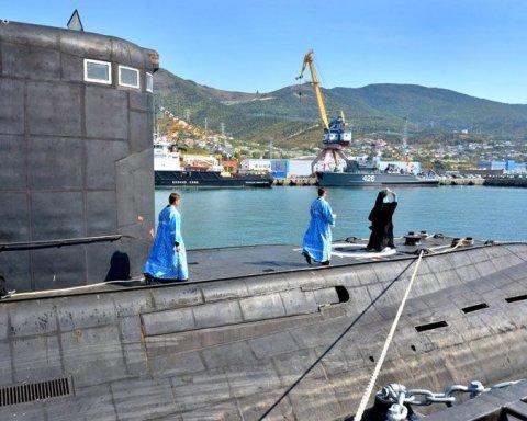 Генерал: Россия хочет использовать подводные лодки против Украины