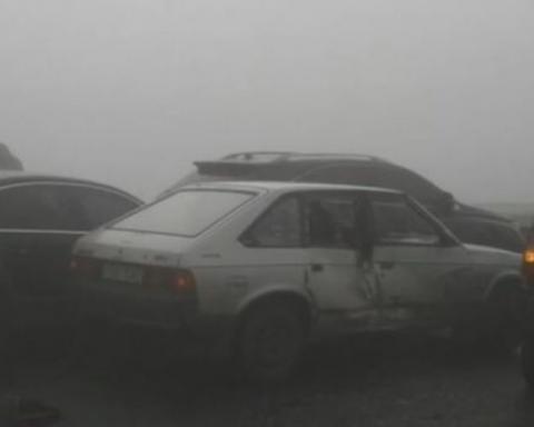 Водіїв Києва попередили про небувалий туман на дорогах