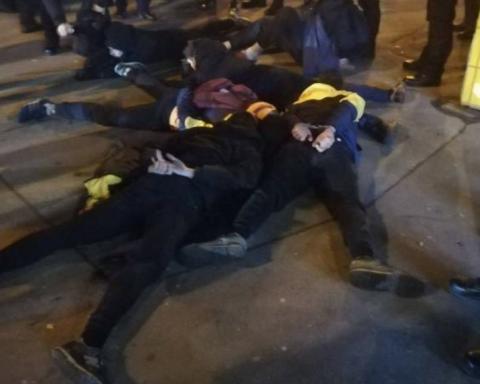 Масові безпорядки у Києві: затримано багато людей