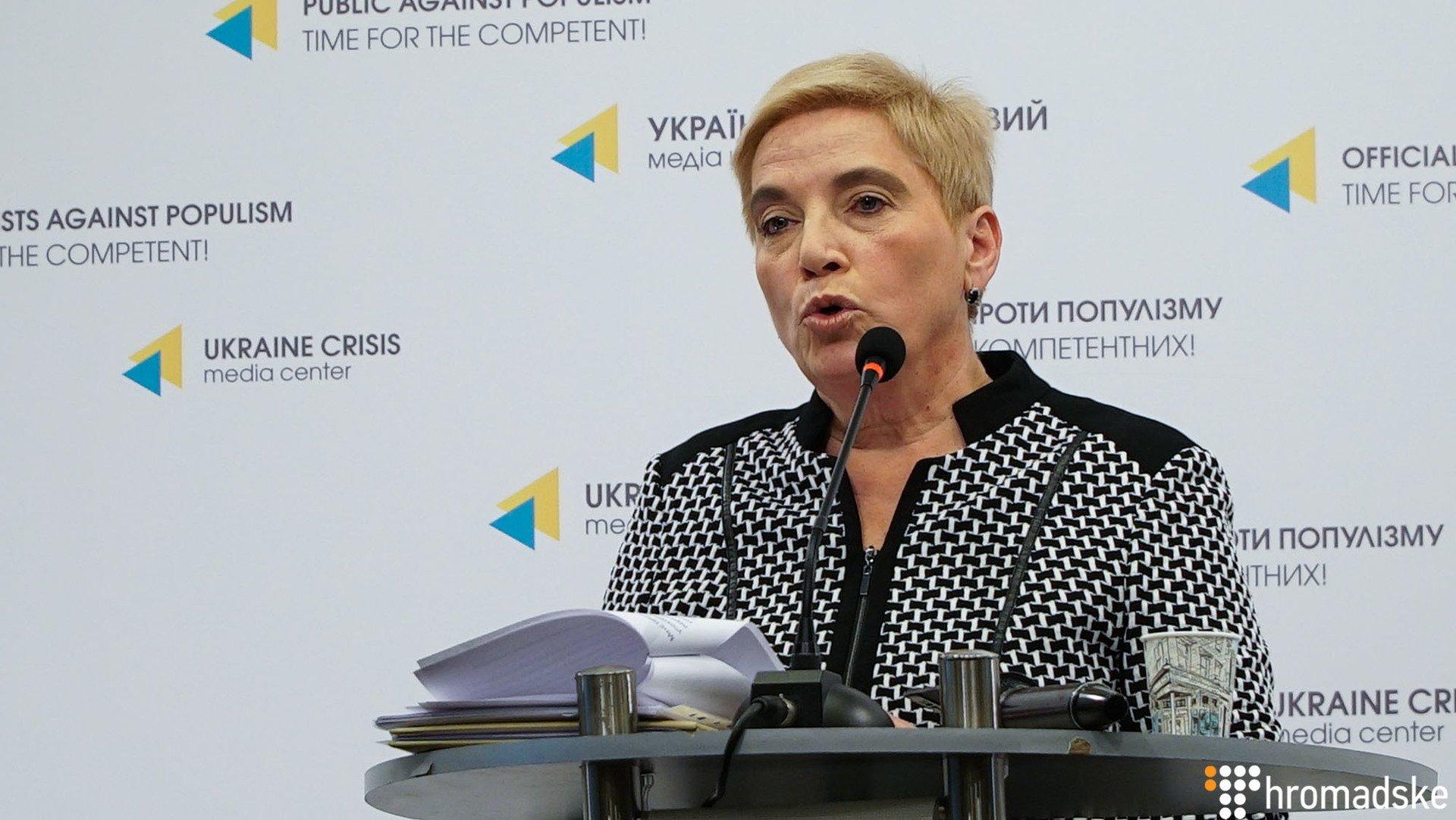 Соломатіна оприлюднила переписку з нібито куратором зАдміністрації президента