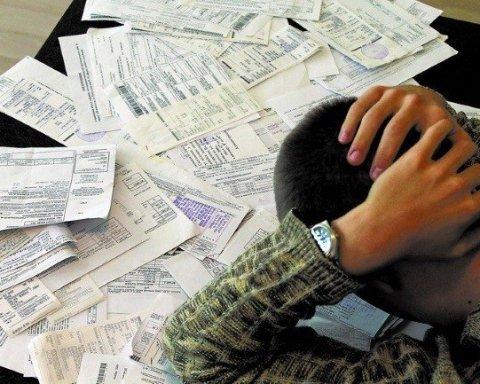 Какие штрафы «светят» украинцам за долги по коммуналке