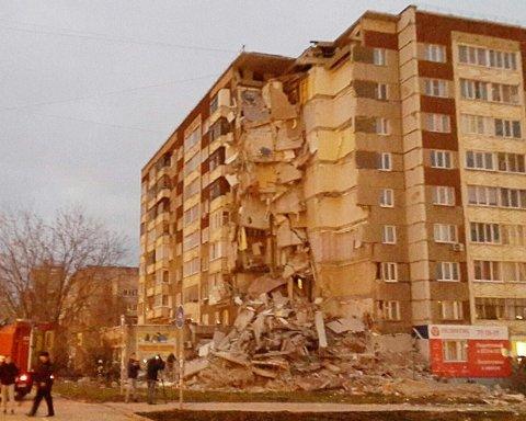 Обрушение дома в Ижевске: число погибших возросло до четырех человек
