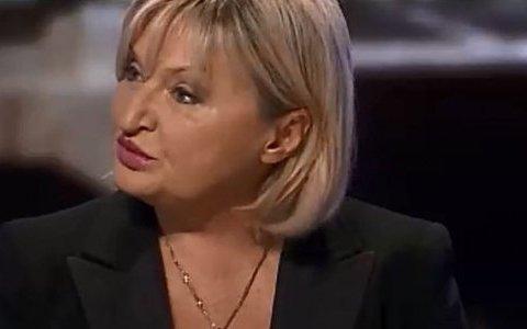 Українці вражені: дружина Луценка прийшла у Раду в обновках за 100 тисяч