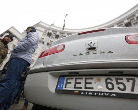 Владельцы «евроблях» устроили бунт в центре Киева: озвучены требования