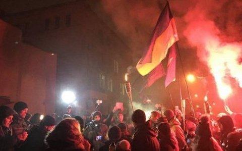 У столиці учасники ходи побилися із поліцією: четверо активістів затримали (відео)