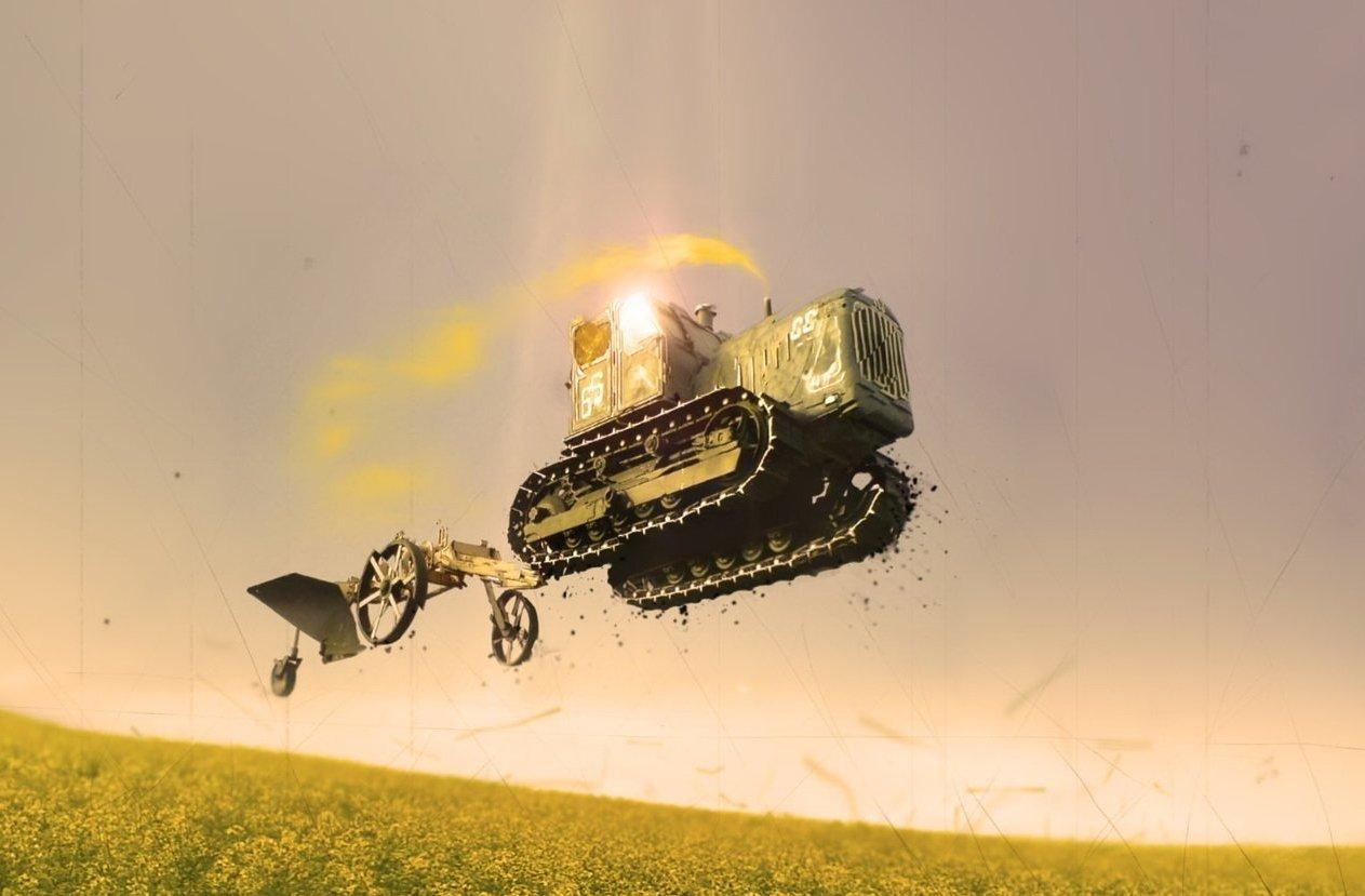 Быстрый и точный: украинцев ошеломил «летающий трактор» (видео)