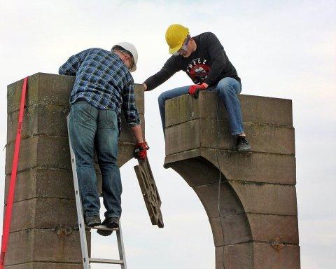 Поляки сделали дорогу из демонтированного памятника воинам УПА