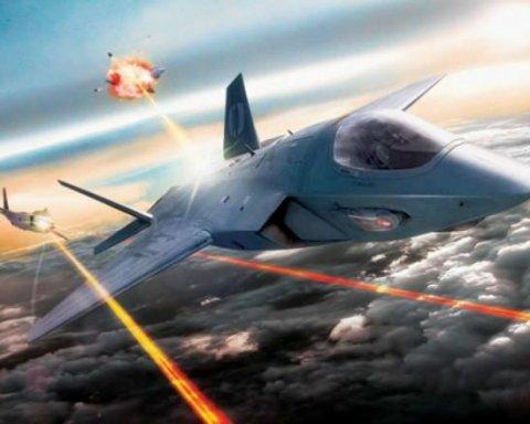 Американская авиация пополнится лазерными истребителями (фото)