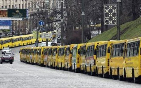 Вартість проїзду у маршрутках Києва суттєво подорожчала