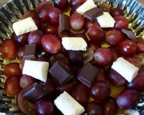 Шоколад, виноград