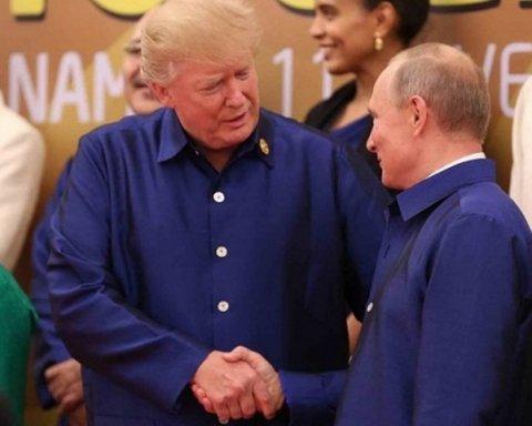 Трамп все ж зустрівся з Путіним у В'єтнамі: стали відомі подробиці