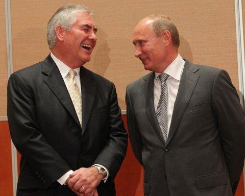 Тиллерсон: Россия продолжает линию агрессии