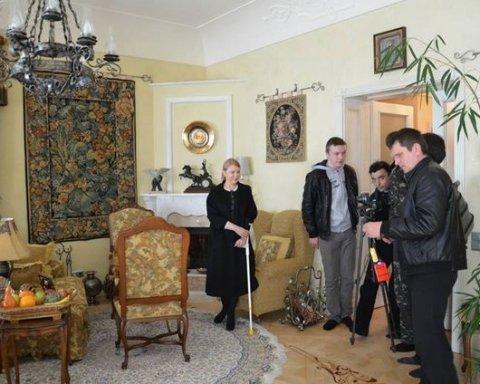 Роскошный замок Тимошенко показали в сети (видео)