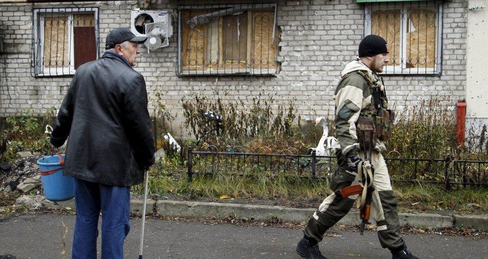 Взрыв в Донецке: появилось первое видео