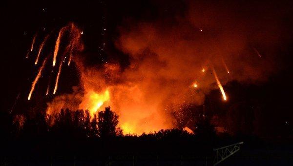 Фосфорні міни застосували бойовики на Донбасі (відео)