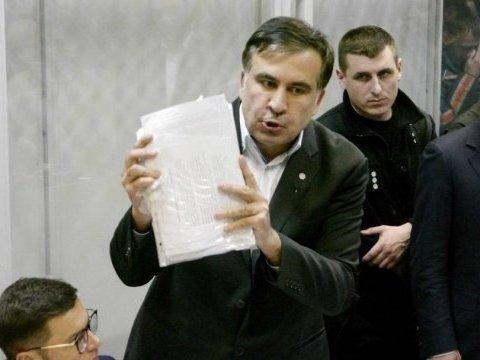 Саакашвили отпустили на свободу: все подробности