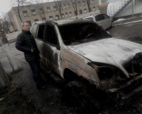 Невідомі підірвали автівку коменданта Майдана