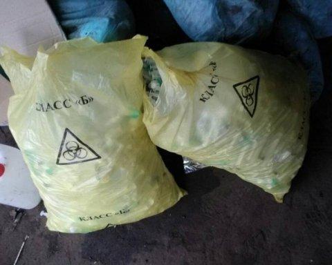 Подпольную свалку медицинских отходов с возбудителями опасных инфекций нашли в Украине