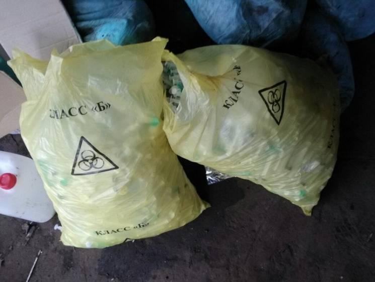 СБУ нашла тонны рискованных медицинских отходов