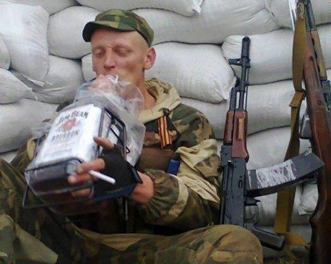 Ватажок банди бойовиків ЛДНР почав пиячити через втрати на війні